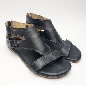 Bed Stu Soto Flat Leather Sandals